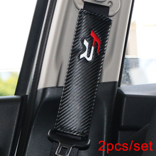 Car Styling Seat Belt Cover Pad fit for Seat Leon 2 FR+ cupra Ibiza Car-styling