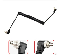 PC Cable 10pcs Camera  cable Male to Male M-M FLASH PC  Sync Cable Cord with Screw Lock PC-PC cable for yongnuo flash light