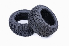 1/5 scale baja 5B III Badland tire x 2pcs/pair- Rear for 1/5 scale hpi baja 5B ss 95191(China)