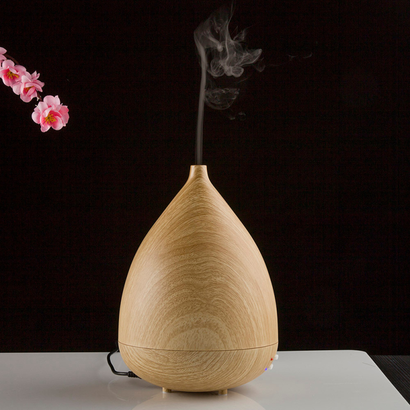 Happy Home 300ML Aroma Essential Oils Home Ultrasonic Humidifier Aromatherapy Electric Aroma Diffuser Mist Maker 1 Piece<br><br>Aliexpress