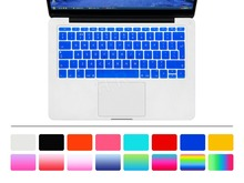 "2017 EU Layout English Keyboard Cover Skin for New Macbook Mac Pro 13"" A1708 Non Touch Bar ( 2016 Version, No Touch Bar )"