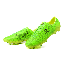 Chinese Brand New Men's Boys Kids Soccer Shoes Outdoor Soccer Cleats TF/FG Football Trainers Sports Sneakers Shoes EU33--45
