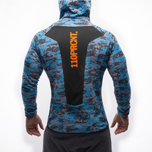 2017 New brand Hoodies sporting hoodies men sweatshirt belt patchwork full sleeve Muscle Brothers man hoodies sportwear