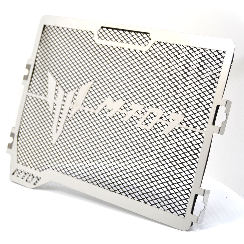 For Yamaha MT07 MT-07 FZ07 2014 2015 2016 2017 Motorcycle Engine Radiator Bezel Grille Protector Grill Guard Cover Protection<br>