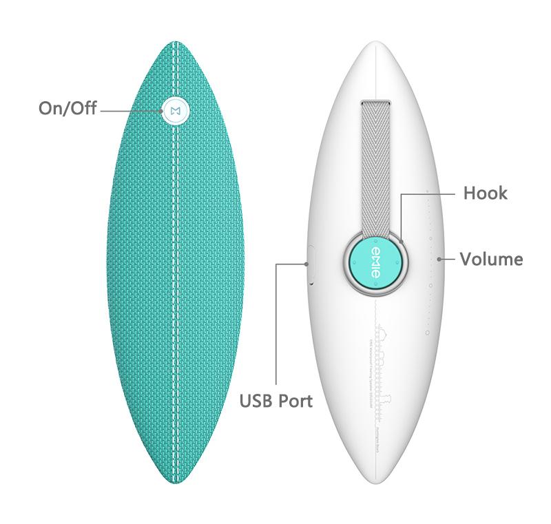 emie solo surf speaker bluetooth 4.2 waterproof ipx7 (16)