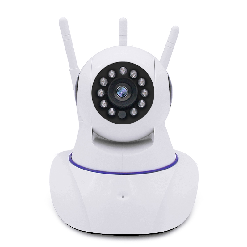 YobangSecurity 960P HD Mini Wireless WiFi Network IP Camera Baby Pet Monitor with Two Way Audio Motion Detection With 3 Antenna<br>