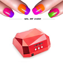 36W UV Lamp Nail Dryer UV LED Lamp for Nail Gel Dryer Diamond Shape Nail Lamp Curing for UV Gel Polish CCFL+LED Nail Art Tools