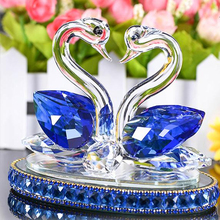 Crystal Swan, creative home decoration crystal crafts, wedding gifts and Christmas gifts