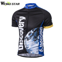 Discovery Cycling Jersey Tops 2017 Pro Team Men Summer MTB Breathable Bike Bicycle Jersey Cycling Clothing Short Sleeve Shirts(China)