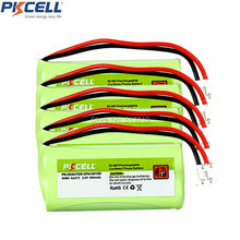 5 Packs Rechargeable Cordless Phone Batteries for BT1011 BT-1011 BT1018 BT-1018 BT1022 BT-1022 BT166342 BT266342(China)