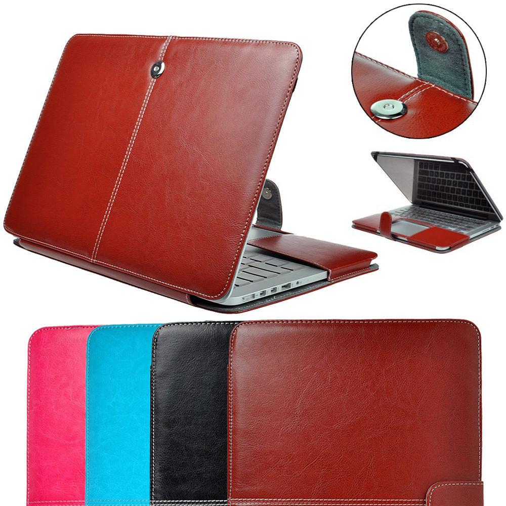 Premium PU Leather Case Sleeve Bag For Macbook Pro Air Retina 11 12 13 15 Cover Briefcase for Macbook 11.6 13.3 15.4 Pro Air<br><br>Aliexpress