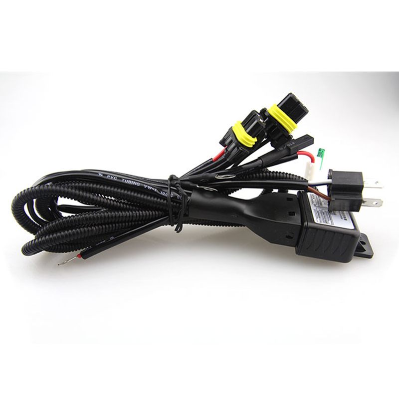 High Quality H4 Bixenon H4 3 font b Harness b font font b Wire b font online buy wholesale 12v 35w wiring harness controller hid from  at bakdesigns.co