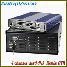 2015 new wifi  GPS Car Camera 4CH HDD  Mobile DVR Support Mobile phones and computers Remote View and Track