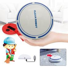 Rechargeable Sweeping Robot Slim Suction Machine Robotic Vacuum Cleaner Sweeper(China)