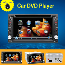 "2din GPS Navigation 3D PIP Map 6.2"" In Dash Car DVD Player Bluetooth TV Radio Steering Wheel 3G USB BT FM For universal any car(China)"