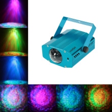 10W Color Changing Mini LED Water Wave Ripple Stage Effect Lighting Lamp with Controller for Disco KTV Club Party US /EU