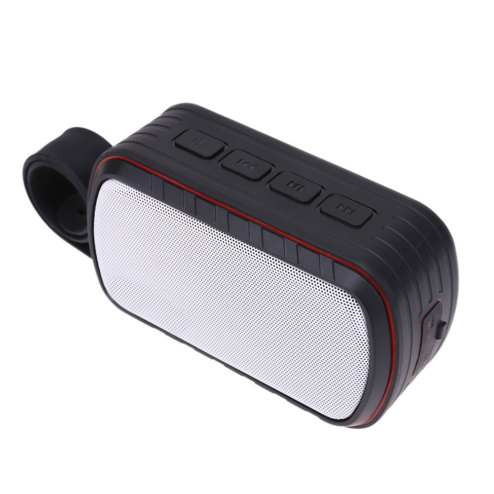 Bluetooth Speaker Mini Portable Outdoor Waterproof Speaker Wireless Bluetooth 4.0 Speaker with Belt Portable Audio Video Speaker