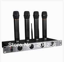 On Sale High Quality KFW WK-U4200 UHF wireless microphone conference karaoke OK performances Handheld Wireless microphone system(China)
