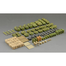 OHS Tamiya 35266 1/35 Modern US Army Military Equipment Set Assembly Military Miniatures Model Building Kits(China)