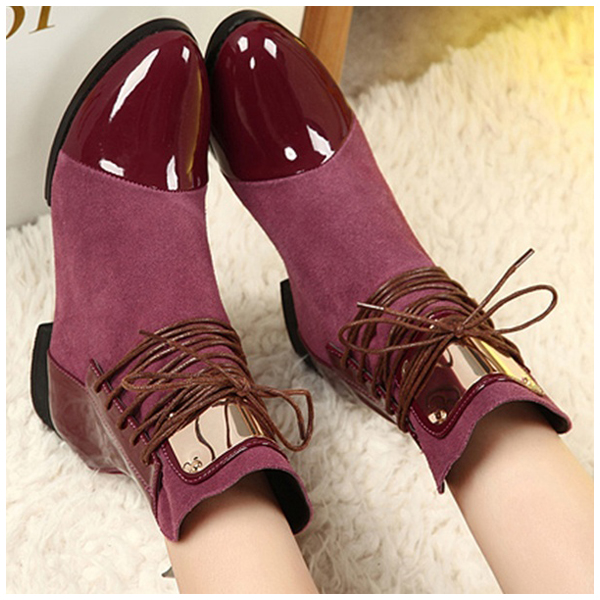 ASDS low Heels Women Martin Boots Sexy Vintage Motorcycle Boots Shoes Fashion Women Ankle Boots<br>