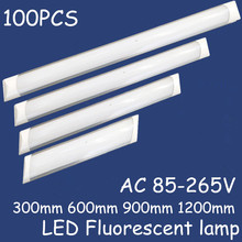40pcs Nwe Lampada Led Panel Lights LED Batten light Explosion Proof dust-proof lamp 25W 35W 45W Ceiling lamp Purification lights