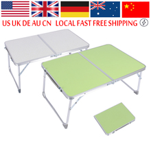Portable Folding Table Laptop Desk Stand PC Notebook Bed Tray Outdoor Picnic Camping Table