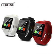 Hot sale U8 New Bluetooth Smart Watch U Smart Watch Wrist Watch For IPhone 4/5S/6 Android Phone Smart Phones watch