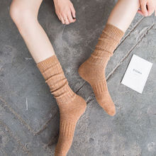 Hirigin Casual Girls Women Ladies Thigh High Candy Color Long Winter Warm Cotton Ankles Stockings(China)