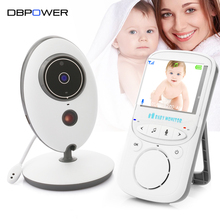2.4GHZ VB605 Wirless Baby Monitor 2 Way Talk 2.4''LCD Digital Baby Camera 24h Babysitter Audio IR Temperature Portable Monitor