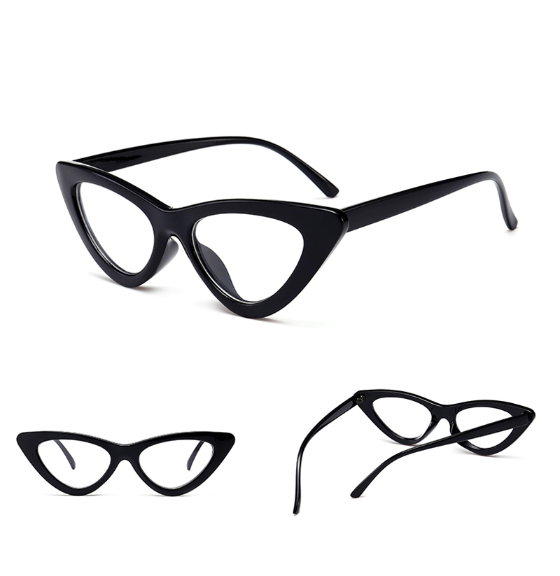 retro cat eye glasses frames for women 0317 details (3)