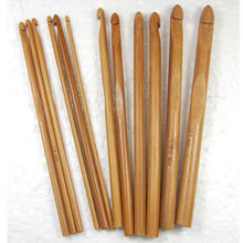 2016 Knitting Loom New Synthetic Hair Arrival Bamboo Crochet Hook 12pcs/set 12 Size 3mm-10mm Smooth Carbonized On Promotion