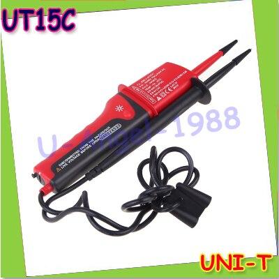 UNI-T UT15C LCD Display Waterproof IP65 Type Voltage Testers voltmeter motorcycle voltimetro voltage meter Tester+free shipping<br><br>Aliexpress
