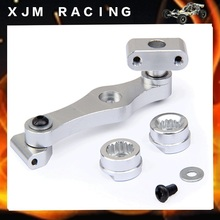 LT CNC Metal throttle servo arm kit (17T/15T) for 1/5 RC CAR ROVAN LT losi 5ive-T parts(China)