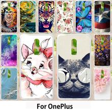 Walcox Soft Cases OnePlus 6 Case Cover OnePlus 3 5t one 5 2 X OnePlus 3T OP5T A0001 A1000 A3000 A0003 Coque