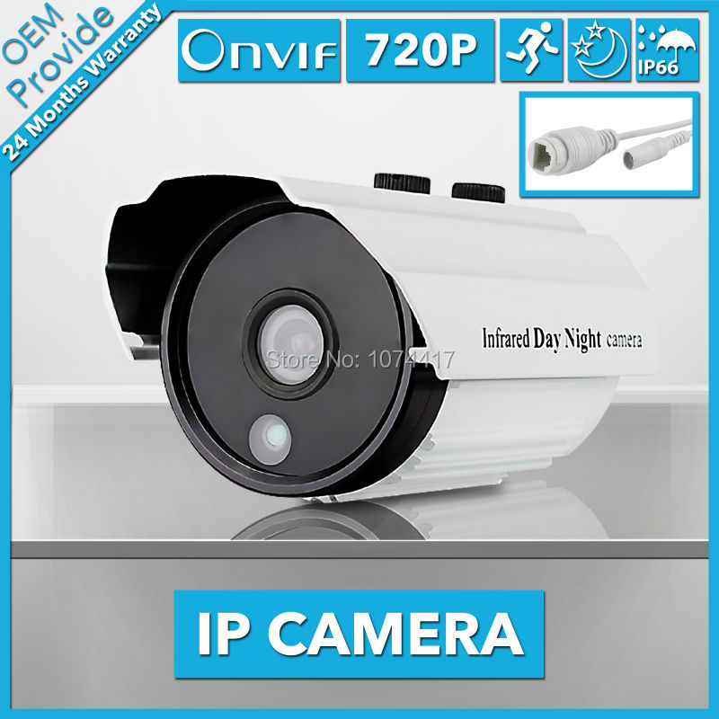 FL-W-IP3100LT-E CCTV IP Camera 720P IR bullet 1.0MP Waterproof Security Camera  Outdoor IR Support Onvif P2P Without bracket<br>