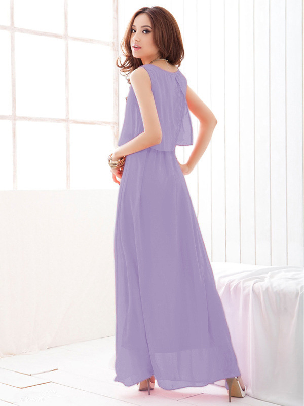 Chiffon Casual Maxi Dress