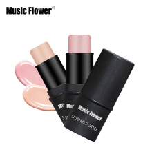 Brand New 2 Color Face Contouring Makeup Shimmer Stick Highlighter Stick Pen Brighten Skin 3D Face Bronzer Highlighter Powder(China)