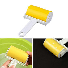 Washable Sticky Hair Removal Roller for Pet Dust Clothes Furniture Cleaning !