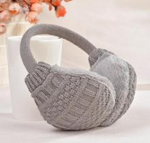 2017 New Winter Earmuffs For Women Warm Unisex Ear Muffs Winter Ear Cover Knitted Plush Winter Ear Warmers