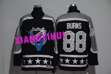Free shipping 2017 High Quality New Style Alles hot starly Ice Hockey Jerseys BURNS #88