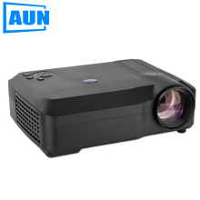 AUN AM50 LED Projector 2800 Lumens 1280x768 New Beamer Best Cost Performance for Home Theater Office Classroom Bar