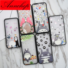 Hot Japan Cartoon Hayao Miyaz Cute Totoro Case for iPhone 6 6S plus 5 5S SE cover For iphone 6 7 7Plus phone case fundas coques
