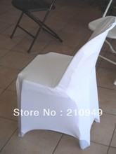 Awillhome shipping free  100pcs plastic chair covers  spandex