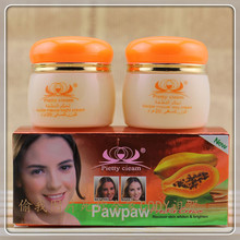 Papaya remove discoloration to freckle cream