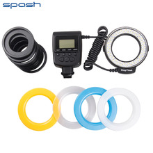 New RF-550E Macro 48 pcs LED Ring Flash Light For Sony A900 A850 A560 A77 A65(not HDMI)