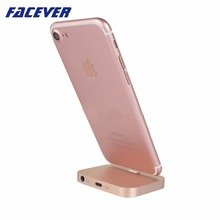 Facever High Quality Audio Sync Data Charging Dock Station For iPhone 7 7 Plus 6 6S 5 5S SE iPod Original Desk Docking Charger