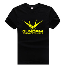Logo GUNDAM ADDICT CLAN Deviant Art Join the revolution couple clothes man cotton T-shirt(China)