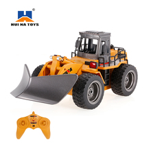 HUI NA TOYS 1586 1/18 2.4Ghz 6CH Snow Sweeper Engineering Truck RC Vehicle Kids Toys Gift Winter Outdoor Snow Road RemoteCleaner(China)