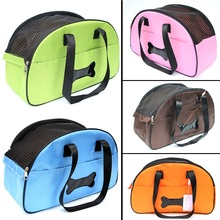C02 New arrival Portable Pet dog bag carrier Mesh Breathable pet carrier bag carry for Puppy dog cats Five colors choose