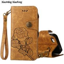 Flower Leather Wallet For Coque Apple iPhone 4S Case Flip Cover For iPhone 4 S Phone Cases For iPhone4 iPhone4S Vintage Covers(China)